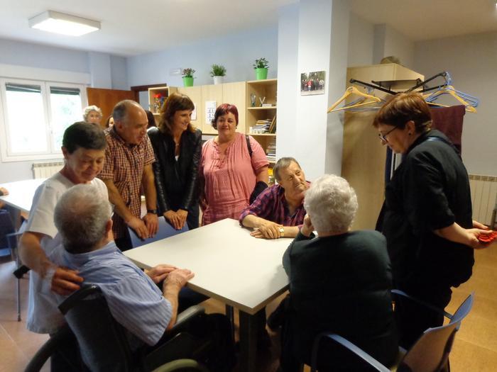 Kataluniatik bisita Saiaz Mankomunitatearen proiektuak ezagutzeko