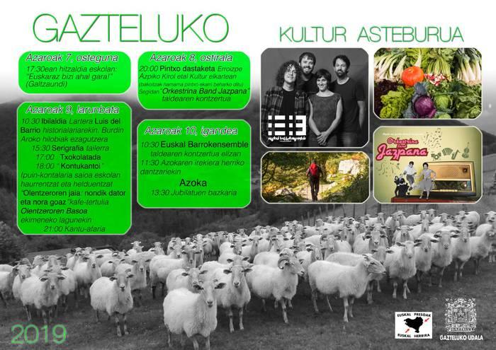 Gazteluko kultur asteburua