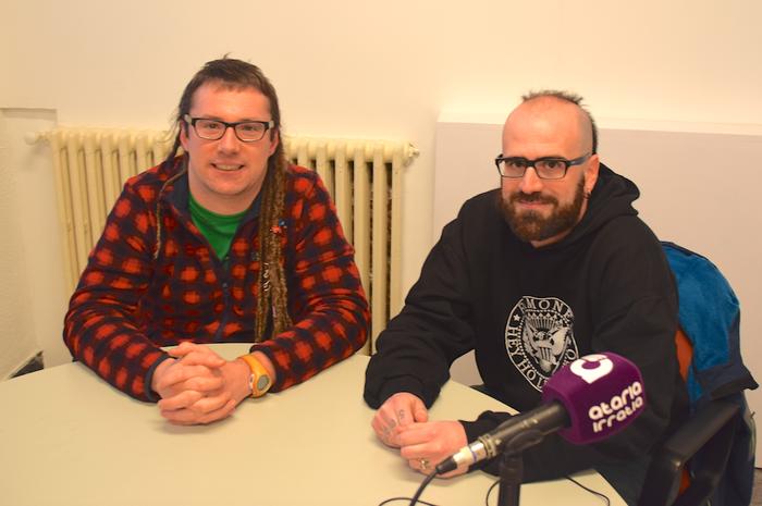 Daniel Scott: «Bertsolaritzak asko laguntzen dit euskara ikasteko garaian»