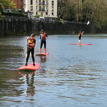 Piragua eta paddle alokairua