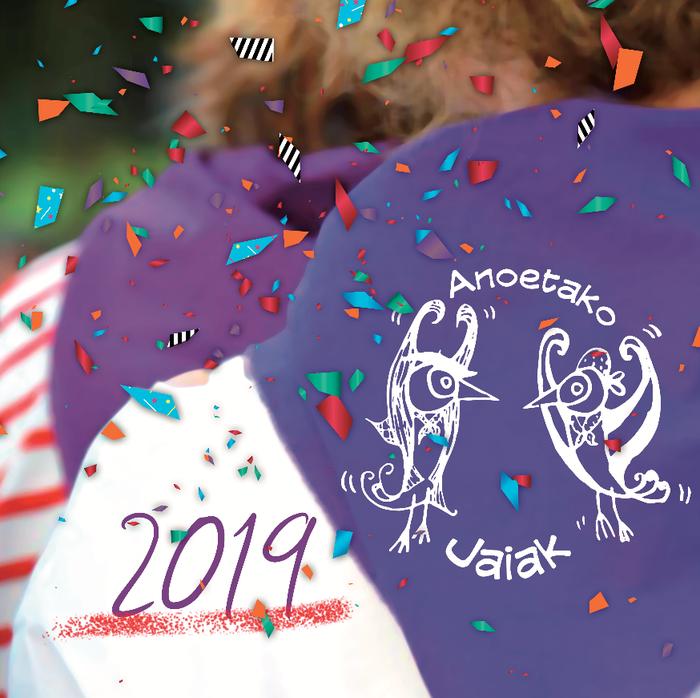 Anoetako jaiak 2019: EGITARAUA