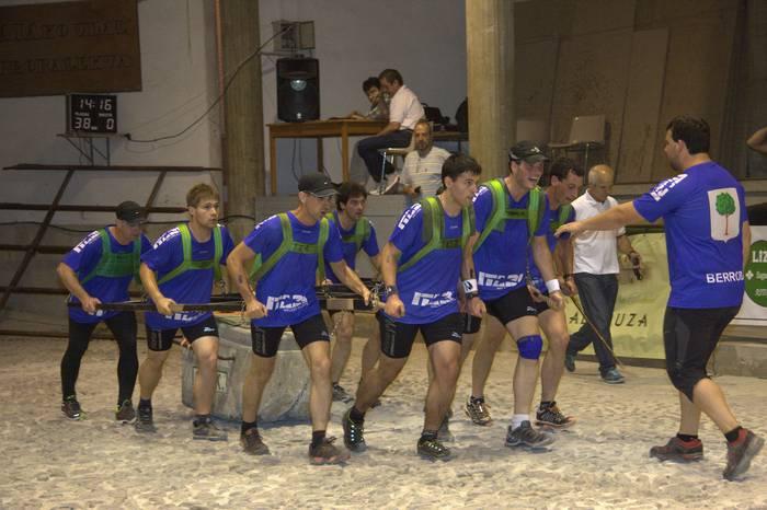 Berrobi, Gipuzkoako Giza Proba txapelketako finalera