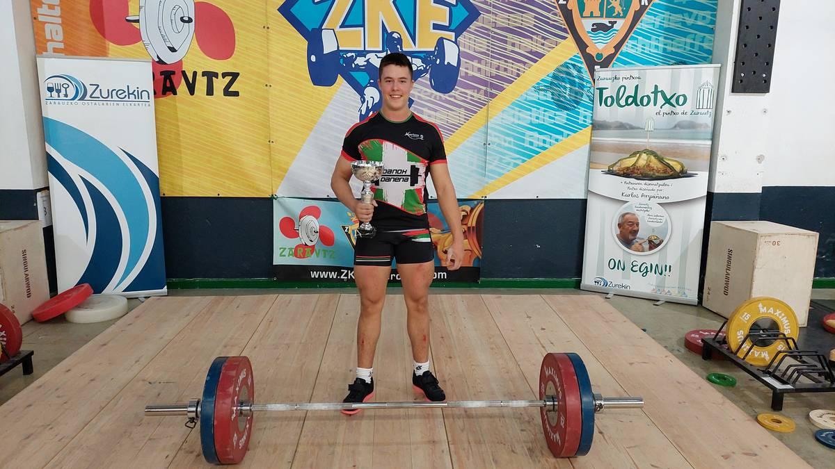 Eki Lizaso, 17 urtez azpiko Euskadiko Txapelketako irabazlea
