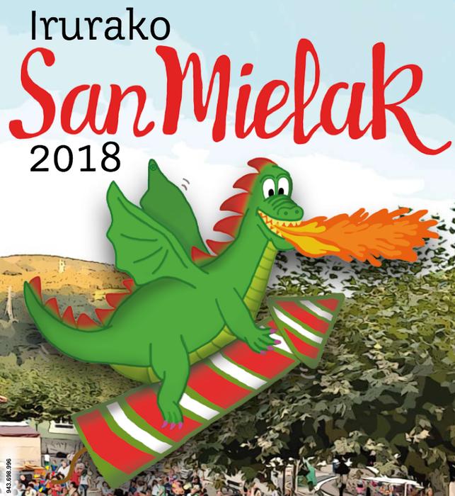 Irurako sanmielak 2018: egitaraua