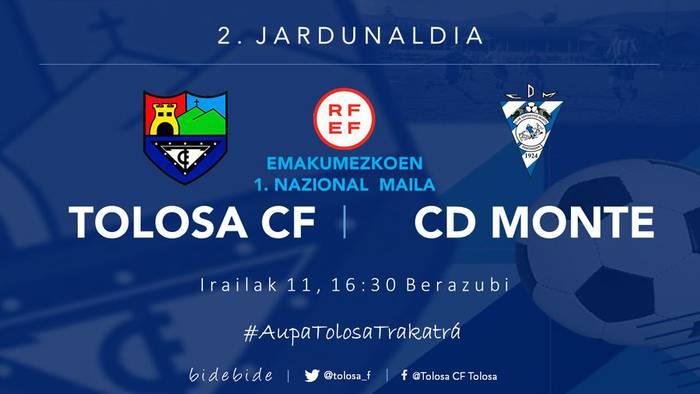 TOLOSA CF - CD MONTE