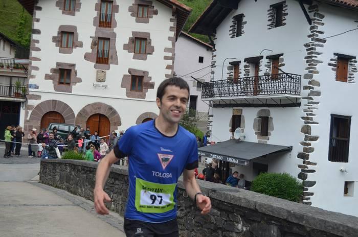 Altzoko Iñaki Olanok irabazi du Goizutrail