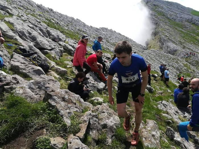 Iñaki Olano hirugarren Basajaun Trail Race mendi lasterketan