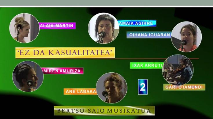 'Ez da kasualitatea' bertso-saio musikatua (2) (Elbarrena-Zizurkil, 2021-09-12) (37'06'')
