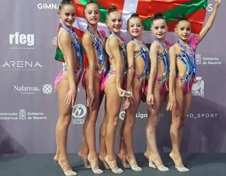 Tolosa CFko oinarrizko infantil gimnastak, Espainiako txapeldun