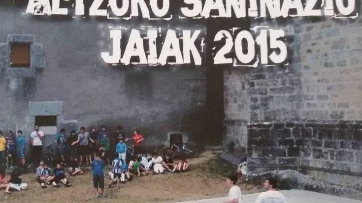 Altzoko Jaiak 2015