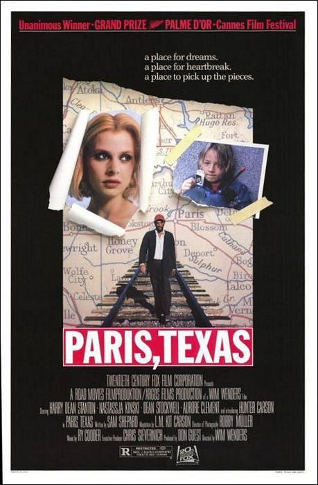 Paris Texas filma