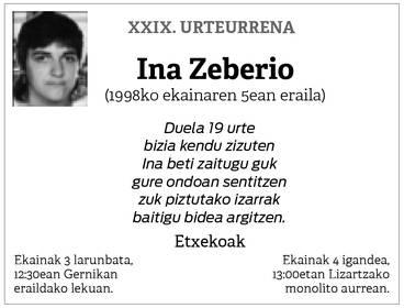 Ina Zeberio