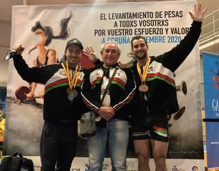 Ekaitz Kortajarena eta Mikel Alvarez, bigarren eta hirugarren Espainiako Txapelketan