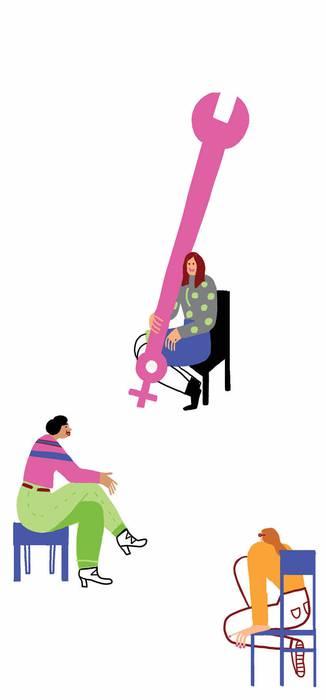 ATZERATUTA. Jabetze Eskola. Autodefentsa feminista
