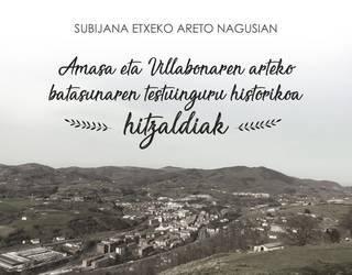 Amasa-Villabonako historiari buruzko hitzaldi zikloa, martxan