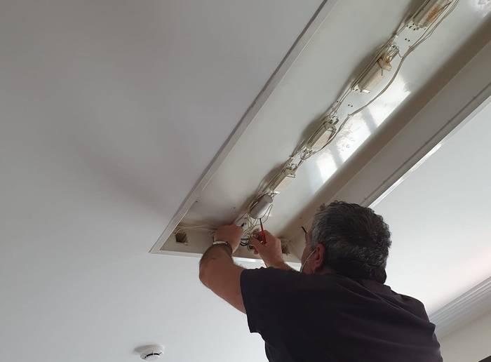 LED argiteria jartzen jarraituko du Ibarrako Udalak