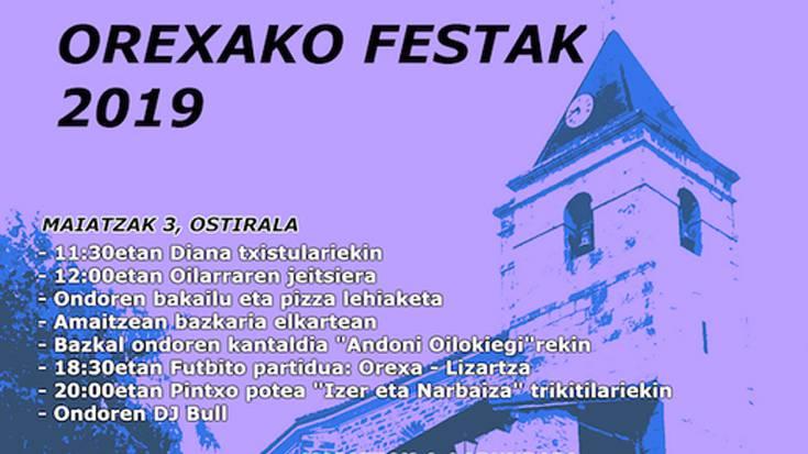 Orexako jaiak 2019