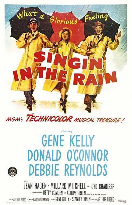 Cantando bajo la lluvia filma