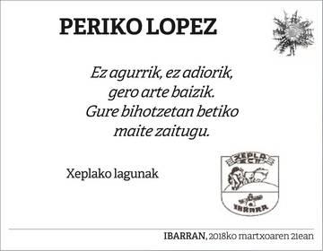 Periko Lopez