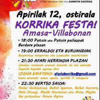 Korrika festa Amasa-Villabonan
