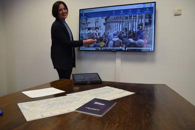 Turismoari begirako webgune praktikoa sortu du Tolosako Udalak