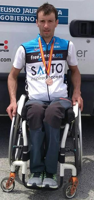 Ion Galarragak lehen domina lortu du Espainiakoan