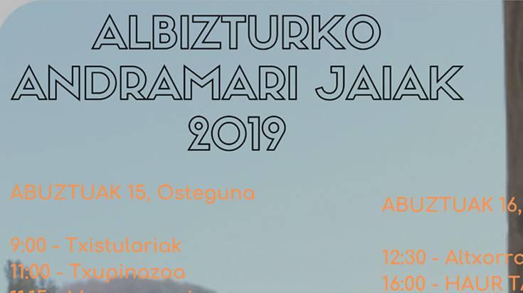 Albizturko jaiak 2019