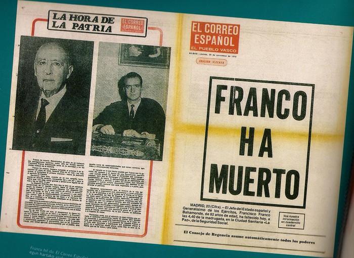 Franco hil zela 40 urte
