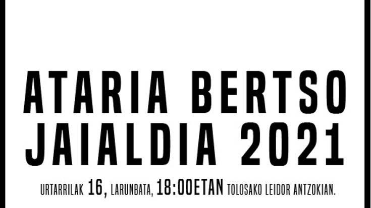 Ataria Bertso Jaialdia 2021