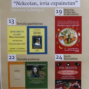Plazida Otaño liburutegiaren 5. urteurrena