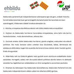 Amasa Villabonako udalak Kataluniar Errepublika onartu eta aitortu du