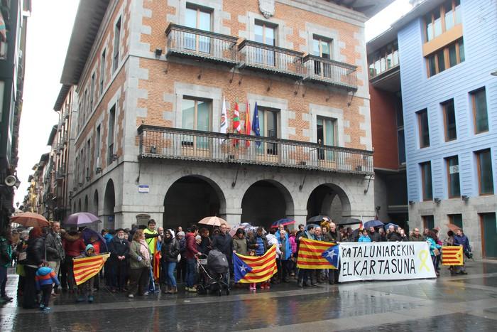 Kataluniarekin bat, demokraziaren eta askatasunaren alde