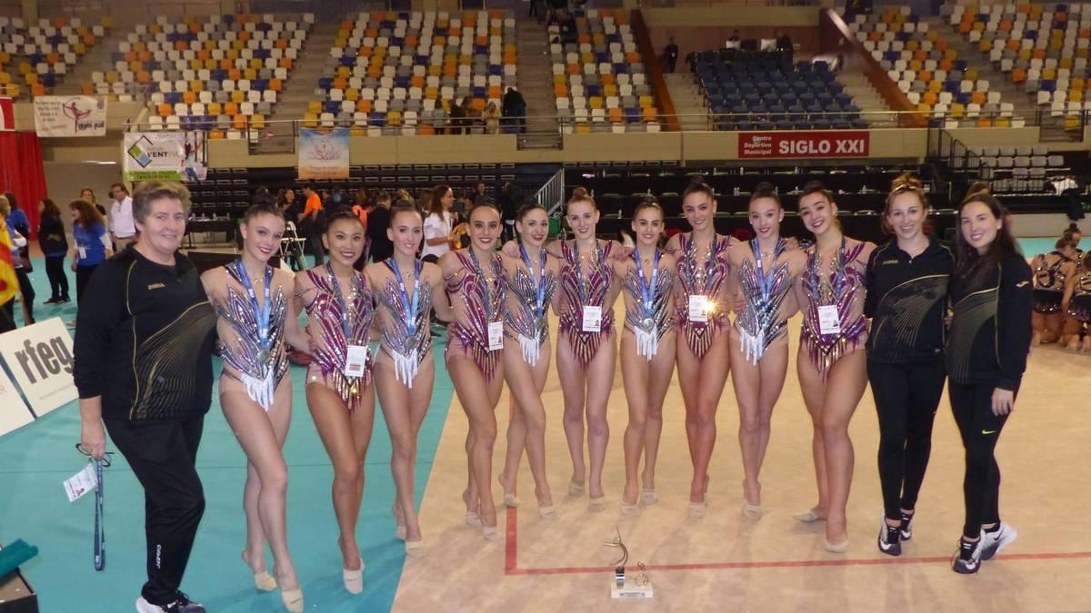 Tolosa CF-ko gimnastek Espainiako Txapelketa «bikaina» egin dute
