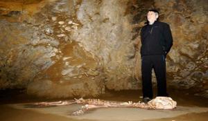 Arrikrutzeko lehoia Atapuerca ingurura