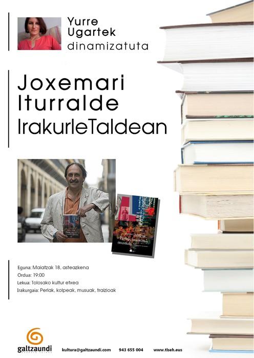 Joxemari Iturralde asteazkenean