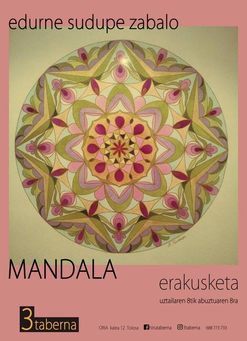 Erakusketa. 'Mandala'
