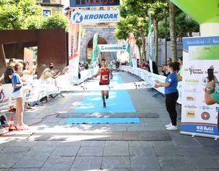 Igor Mugarza eta Nagore Uribarri oñatiarrak, Gazte Lasterketan lehenengoak