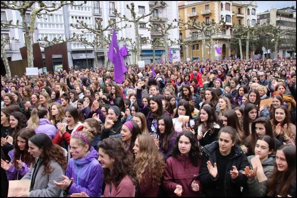 Martxoaren 8aren balorazio positiboa egin du Tolosaldeko Asanblada Feministak