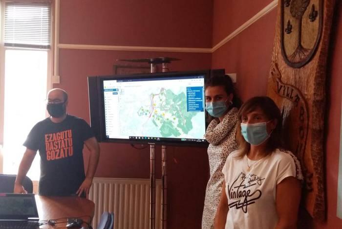 Herriko mapa interaktiboa Villabonan