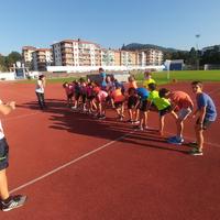 TolosaCF Atletismo Eskolako kanpusa