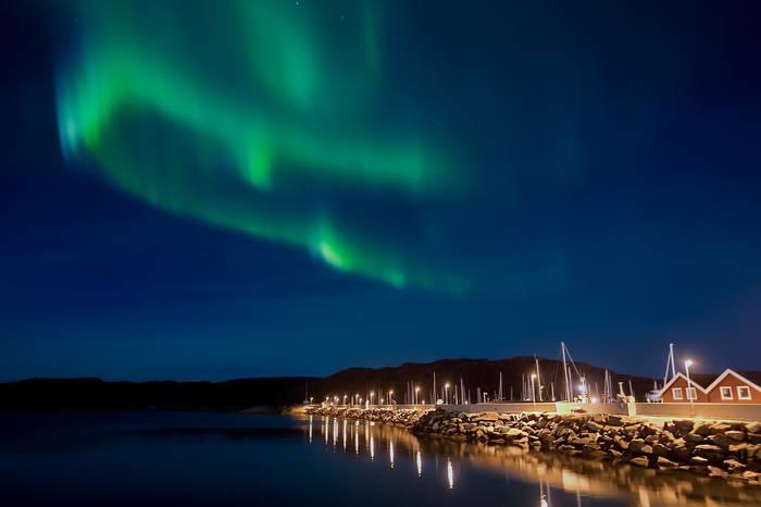 Aurora borealak, iparraldeko argiak… Norvegian