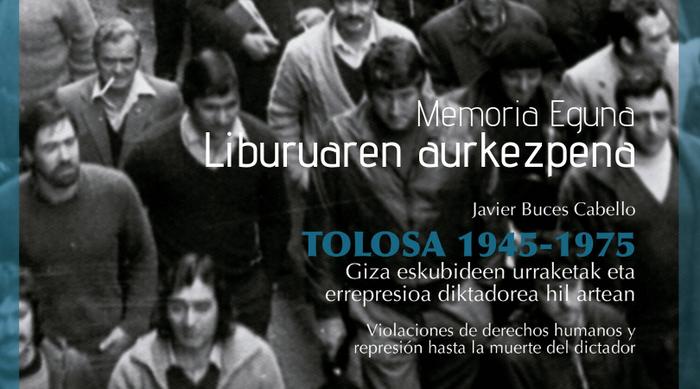 Tolosako memoria landuz, bigarren liburua aurkeztuko dute Aranzadik eta Tolosako Udalak