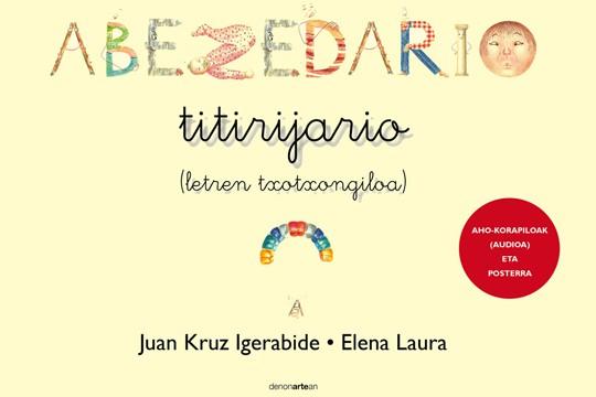 'Abezedario Titirijario' tailerra Plazida Otañon