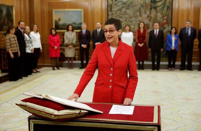 """""""Spain is back"""" esanaz hartu du ministro kartera Arantxa Gonzalezek"""