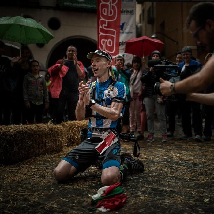 Ion Azpiroz bigarren gelditu da Tenerifen, ultra trailean