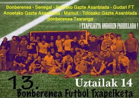 13. Bonberenea Futbol Txapelketa