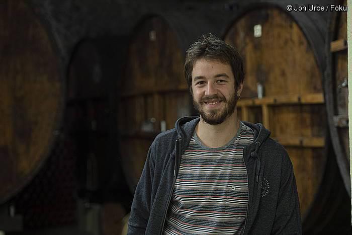 """Joseba Lasa: """"Kalitatean eta prestigioan gora egiten ari da sagardoa"""""""