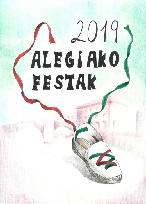 Nahia Ansorenaren kartelak iragarriko ditu Alegiako festak
