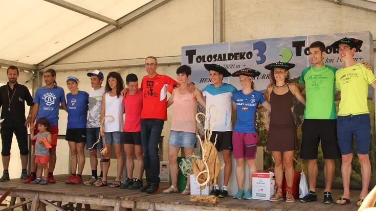 Ismail Razga eta Oihana Azkorbebeitiak irabazi dute T3T mendi lasterketa