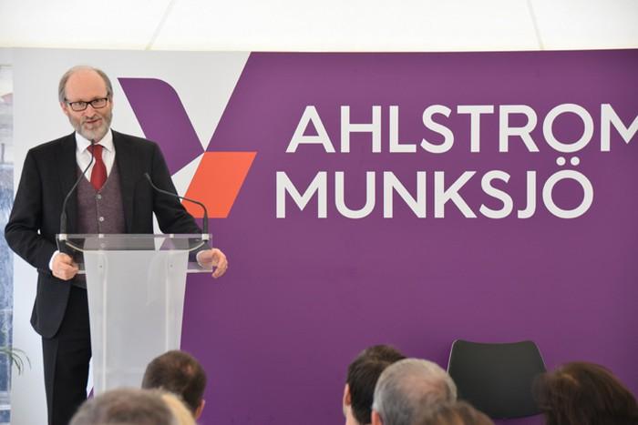 Edari ur araztegia osatu du Ahlstrom-Munksjö enpresak - 7